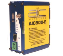 Wireless Ethernet transceiver. AIC900E